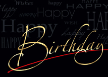 A Special Day Birthday Greeting Card